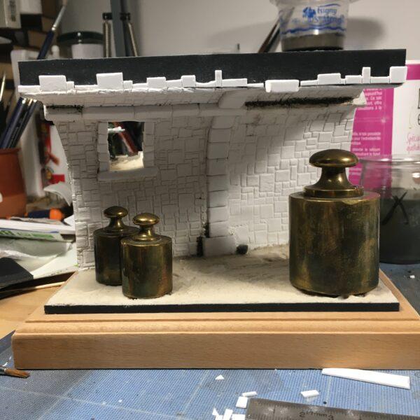 Des nains dans la cave – le montage